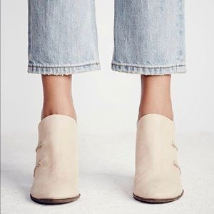 Free People Mules 90's Clog Shoes Heels Leather